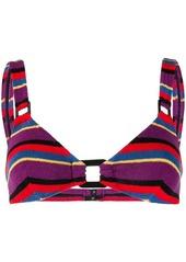 Solid & Striped striped bikini top