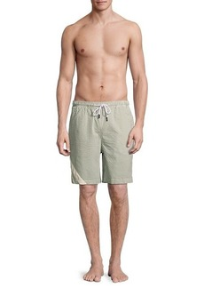 Solid & Striped The California Seersucker Striped Swim Shorts