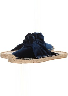 Soludos Knotted Velvet Mule
