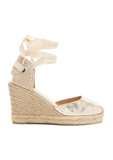 Soludos Metallic Tall Wedge