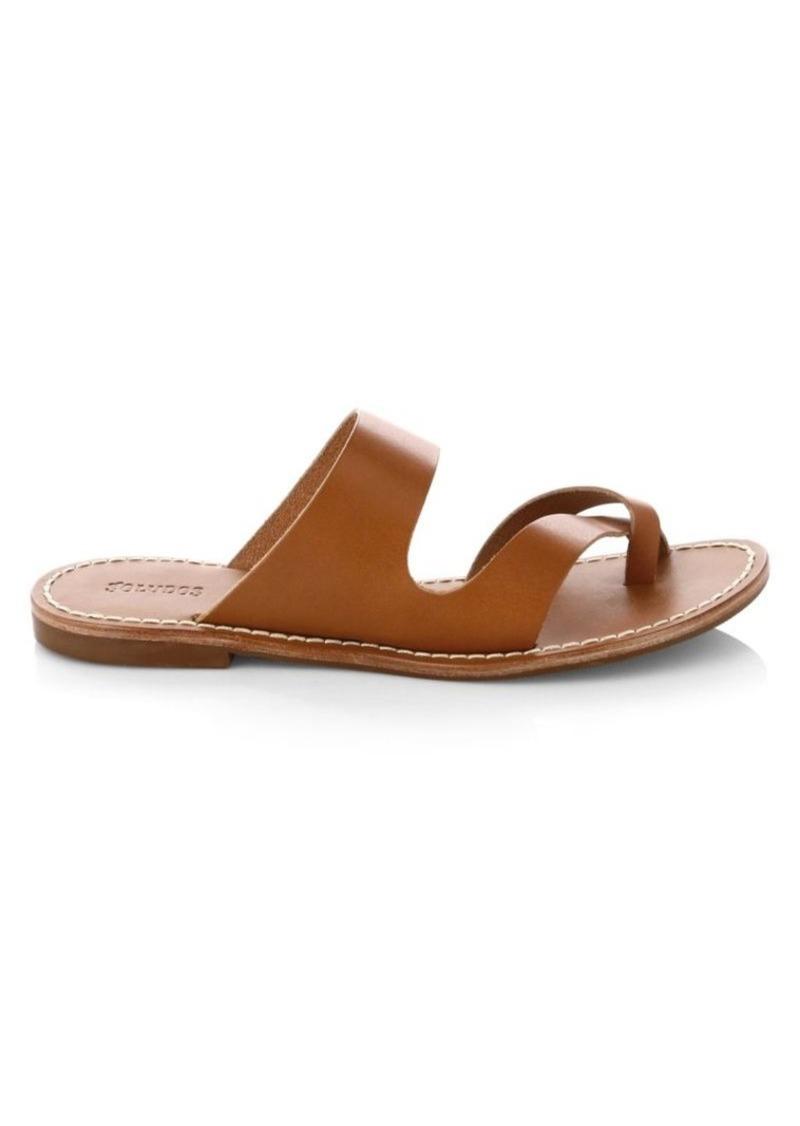 Soludos Milda Leather Slid Sandals