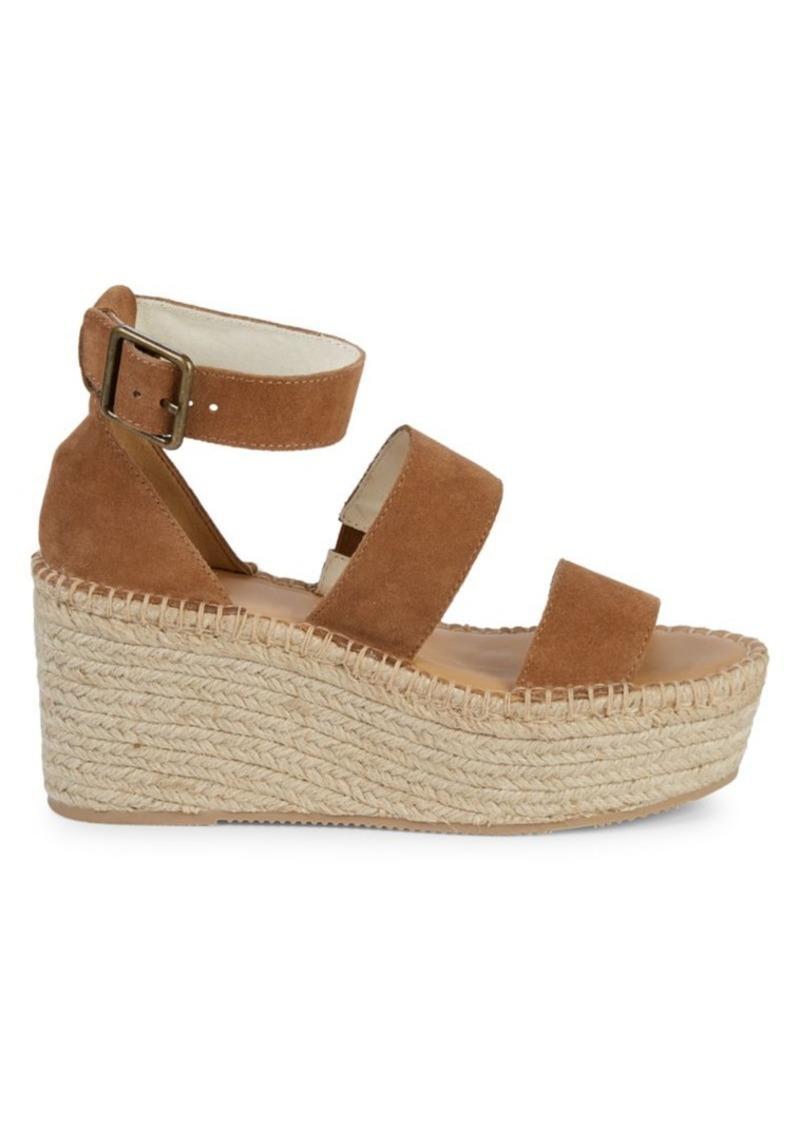 Soludos Palma Suede Espadrille Platform Sandals