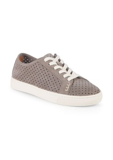 Soludos Perforated Lace-Up Sneakers