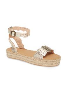 Soludos Cadiz Wave Platform Ankle Strap Sandal (Women)