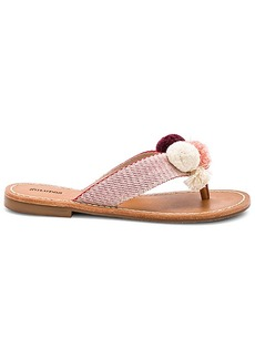 Soludos Capri Pom Pom Sandal