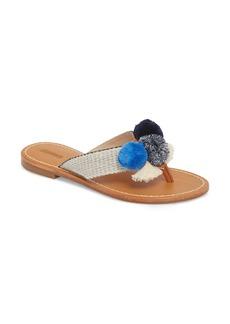 Soludos Capri Pompom Flip Flop (Women)