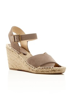 Soludos Crisscross Espadrille Wedge Sandals