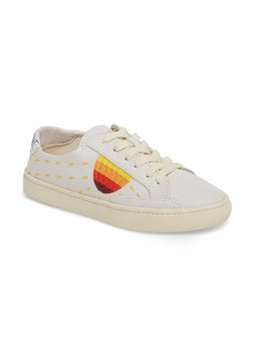 Soludos Embroidered Low Top Sneaker (Women)