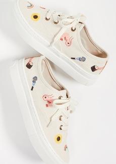 Soludos Embroideried Porto Sneakers