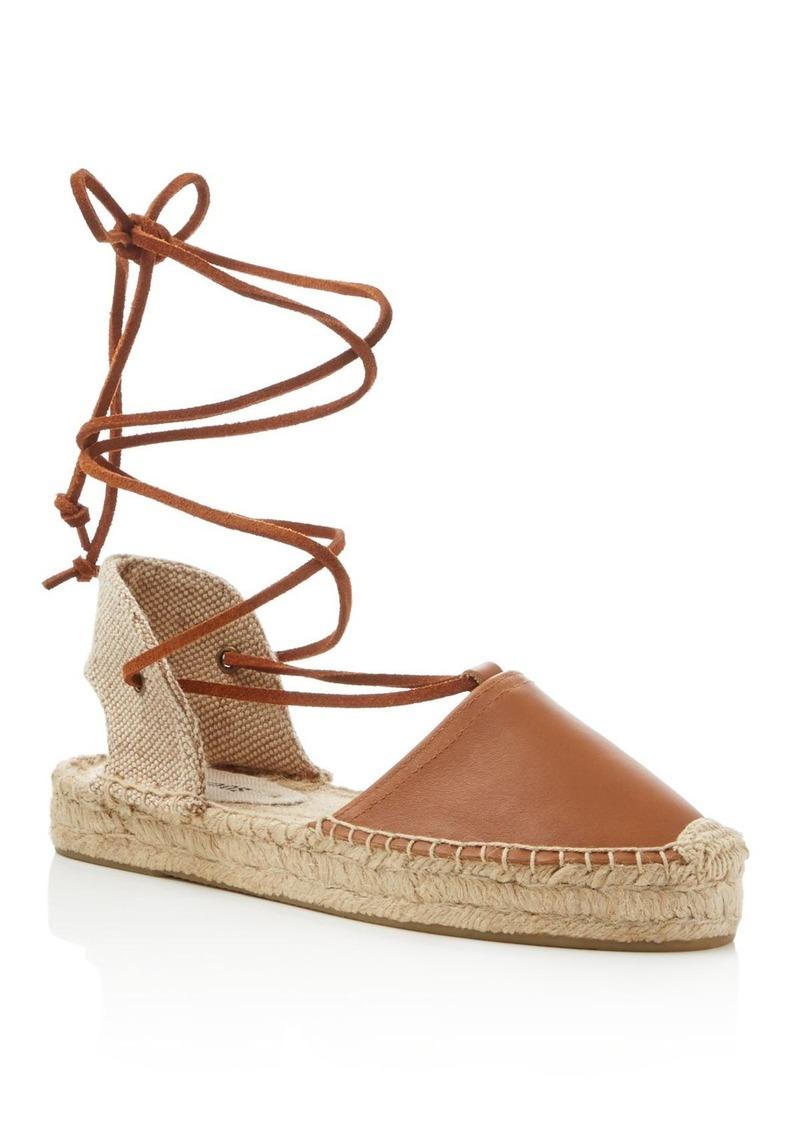 ffc33193b02 Soludos Soludos Gladiator Lace Up Platform Espadrille Sandals