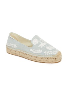 Soludos Ibiza Embroidered Loafer Espadrille (Women)