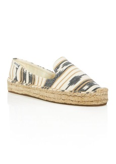 Soludos Ikat Platform Smoking Slipper Flats