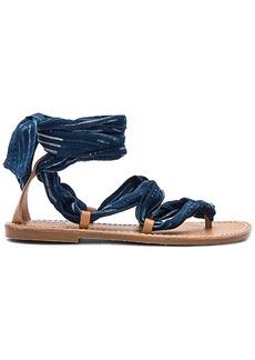 Soludos Indigo Bandana Sandal in Navy. - size 6 (also in 6.5,7,7.5,8,8.5,9.5)
