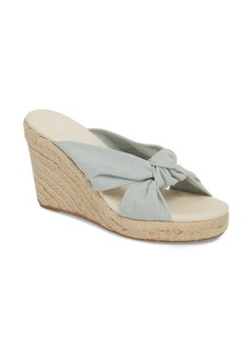 Soludos Knotted Espadrille Wedge Sandal (Women)