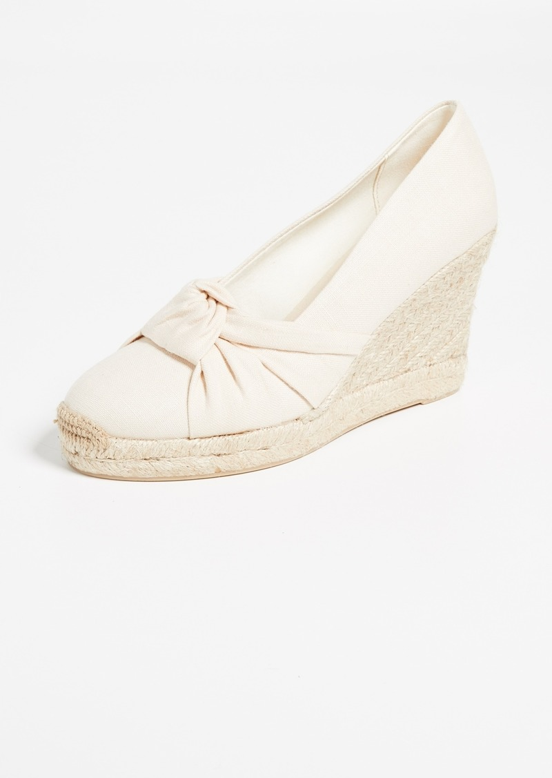 Soludos Knotted Tall Wedge Espadrilles