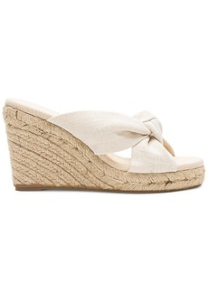 Soludos Knotted Wedge (90MM)