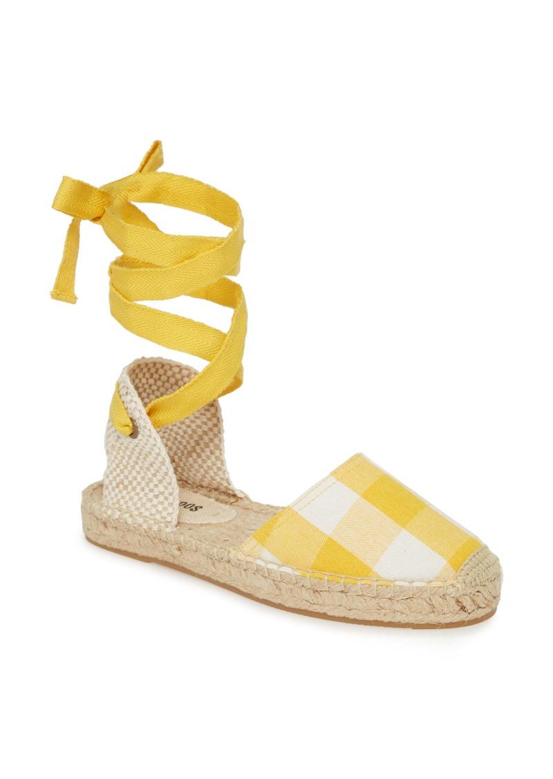 Soludos Lauren Ankle Wrap Espadrille Sandal (Women)