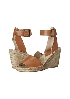 Soludos Open Toe Wedge Leather