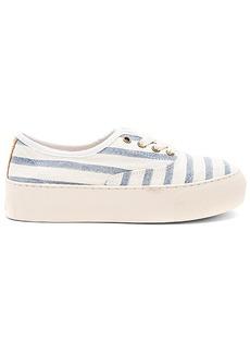 Soludos Platform Stripe Sneaker