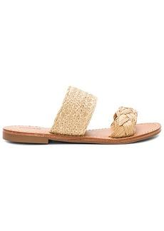 Soludos Raffia Braided Slide Sandal