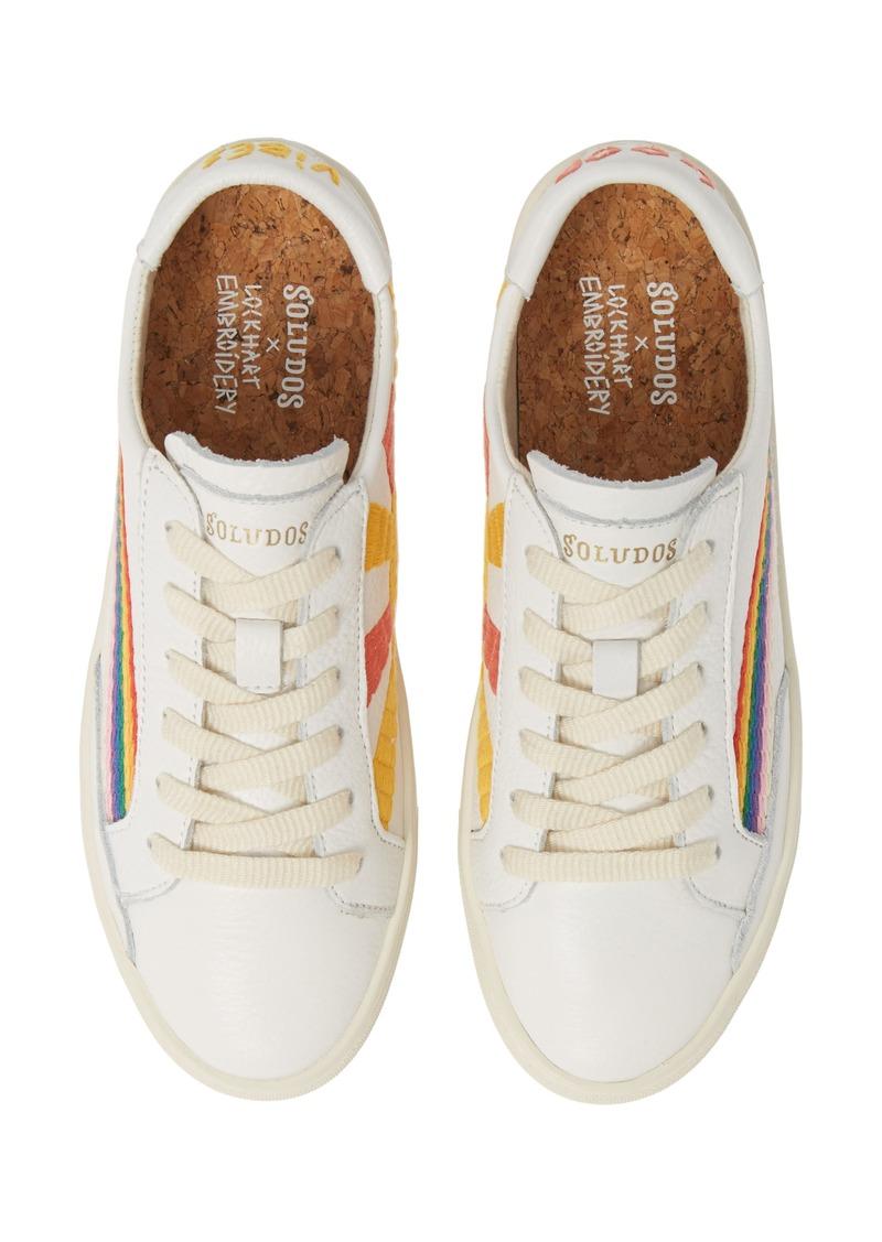 Soludos Rainbow Wave Sneaker (Women)