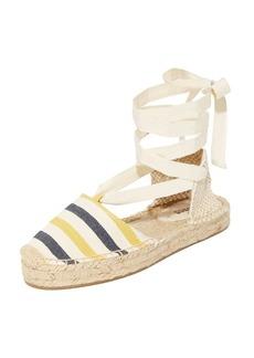 Soludos Striped Platform Gladiator Sandals