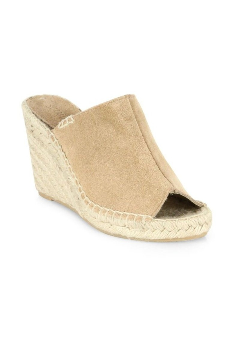 Soludos Soludos Suede Wedge Mules Shoes