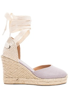 Soludos Tall Wedge in Slate. - size 10 (also in 6,6.5,7,7.5,8,8.5,9,9.5)