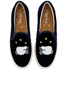 Soludos Velvet Sheep Sneaker