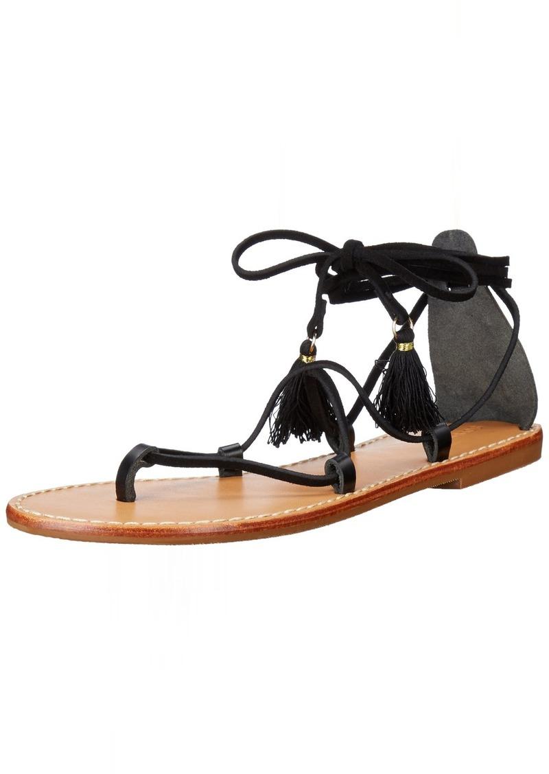 Soludos Women's Gladiator Lace Up Sandal Flat   M US