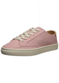 Soludos Women's Ibiza Linen Lace up Sneaker  9.5 Regular US
