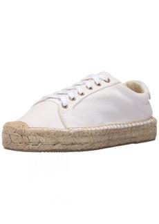 Soludos Women's Platform Tennis Sneaker Flat  10 B US