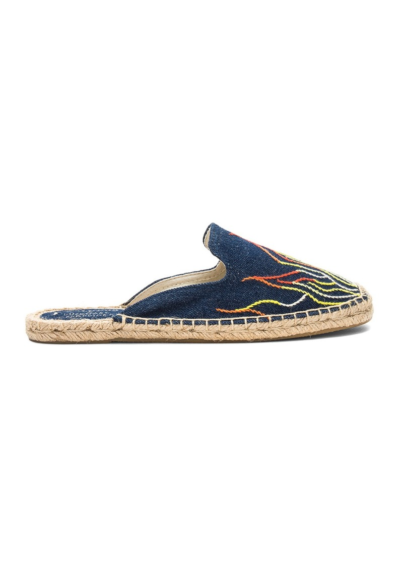 dc92e3622 Soludos Stitched Flames Mule   Shoes