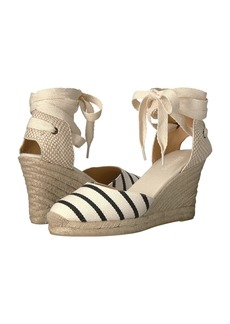 Soludos Striped Tall Wedge