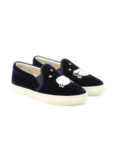 Soludos Velvet Sheep Slip-On Sneakers