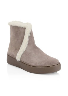 Soludos Whistler Faux-Shearling Suede Boots