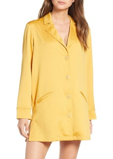 Something Navy Blazer Nightshirt (Nordstrom Exclusive)
