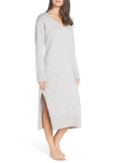 Something Navy Cashmere & Silk Sweater Dress (Nordstrom Exclusive)