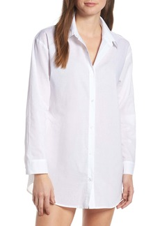 Something Navy Cotton Nightshirt (Nordstrom Exclusive)