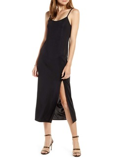 Something Navy Easy Knit Midi Dress (Nordstrom Exclusive)
