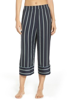 Something Navy Satin Pajama Pants (Nordstrom Exclusive)