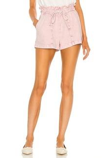 Something Navy Agnes Paperbag Shorts