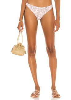 Something Navy Buttercup Low Rise Bikini Bottom