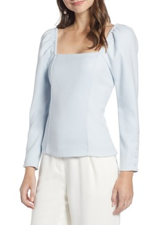 Something Navy Fitted Square Neck Top (Nordstrom Exclusive)