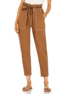 Something Navy Harlow Paperbag Pants