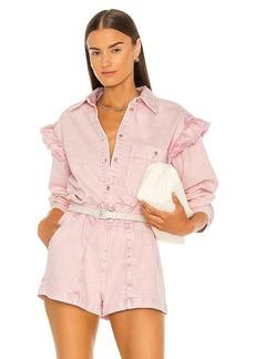 Something Navy Magnolia Shirt Jacket