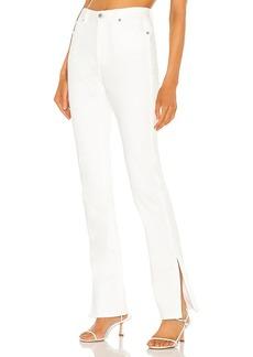 Something Navy Nina Denim Pants with Slit