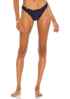 Something Navy Peony Low Rise Bikini Bottoms