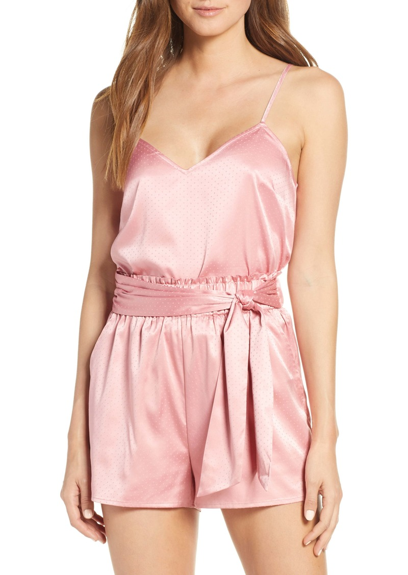 Something Navy Satin Short Pajamas (Nordstrom Exclusive)
