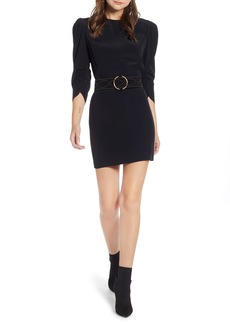 Something Navy Sleeve Detail Minidress (Nordstrom Exclusive)